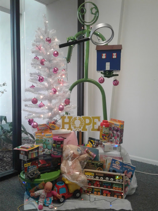 Toys Donated from Hope Home Inspections