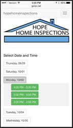 Hope Home Inspections App